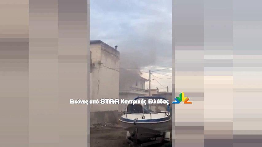 Φωτιά σε ισόγειο κατοικίας στον Ορχομενό