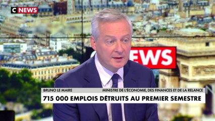L'interview de Bruno Le Maire