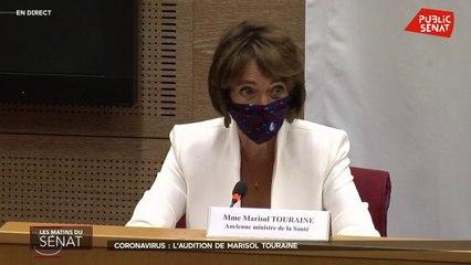 """Covid-19: """"En 2017, les stocks de masques étaient en ordre de marche"""" se défend Marisol Touraine"""