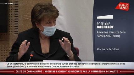 « Je ne suis pas là pour apporter des opinions » : frictions lors de l'audition de Roselyne Bachelot