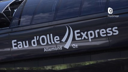Reportage - L'Eau d'Olle Express... une télécabine de la plaine aux stations d'altitude ! - Reportage - TéléGrenoble