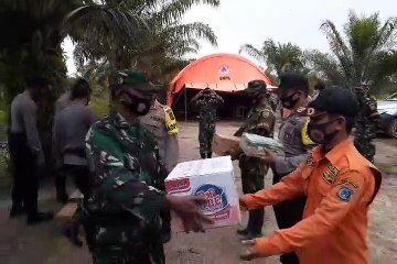 Bantuan Logistik untuk Posko Karhutla Muntialo