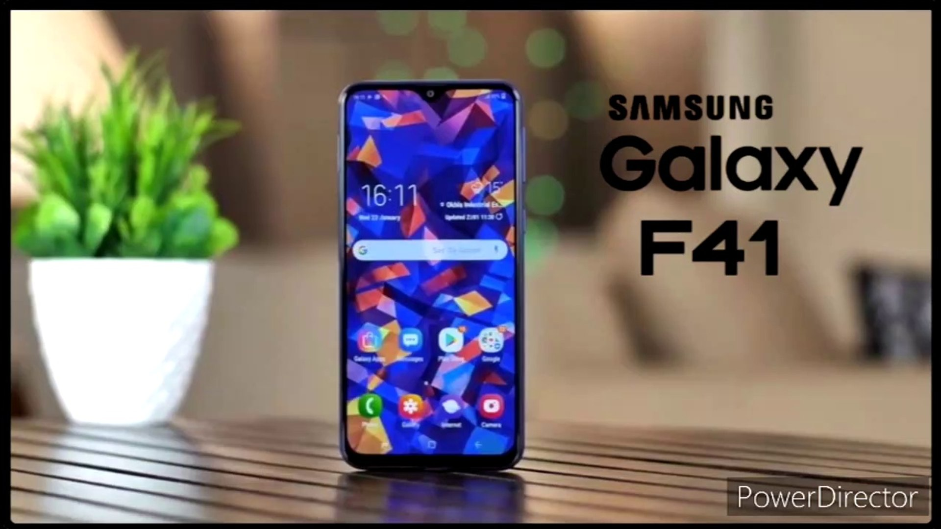 Samsung Galaxy F41 Key Specifications Revealed Video Dailymotion