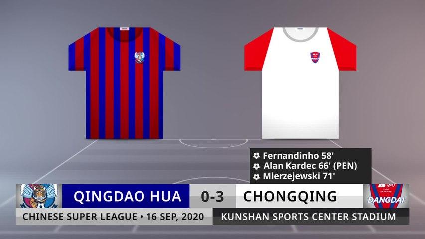 Match Review: Qingdao Hua vs Chongqing on 16/9/2020