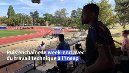 Parcours sans faute pour Zango, thésard et champion de triple saut