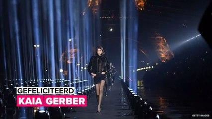 Kaia Gerber is een mode ster