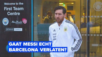 Waar is Messi mee bezig?