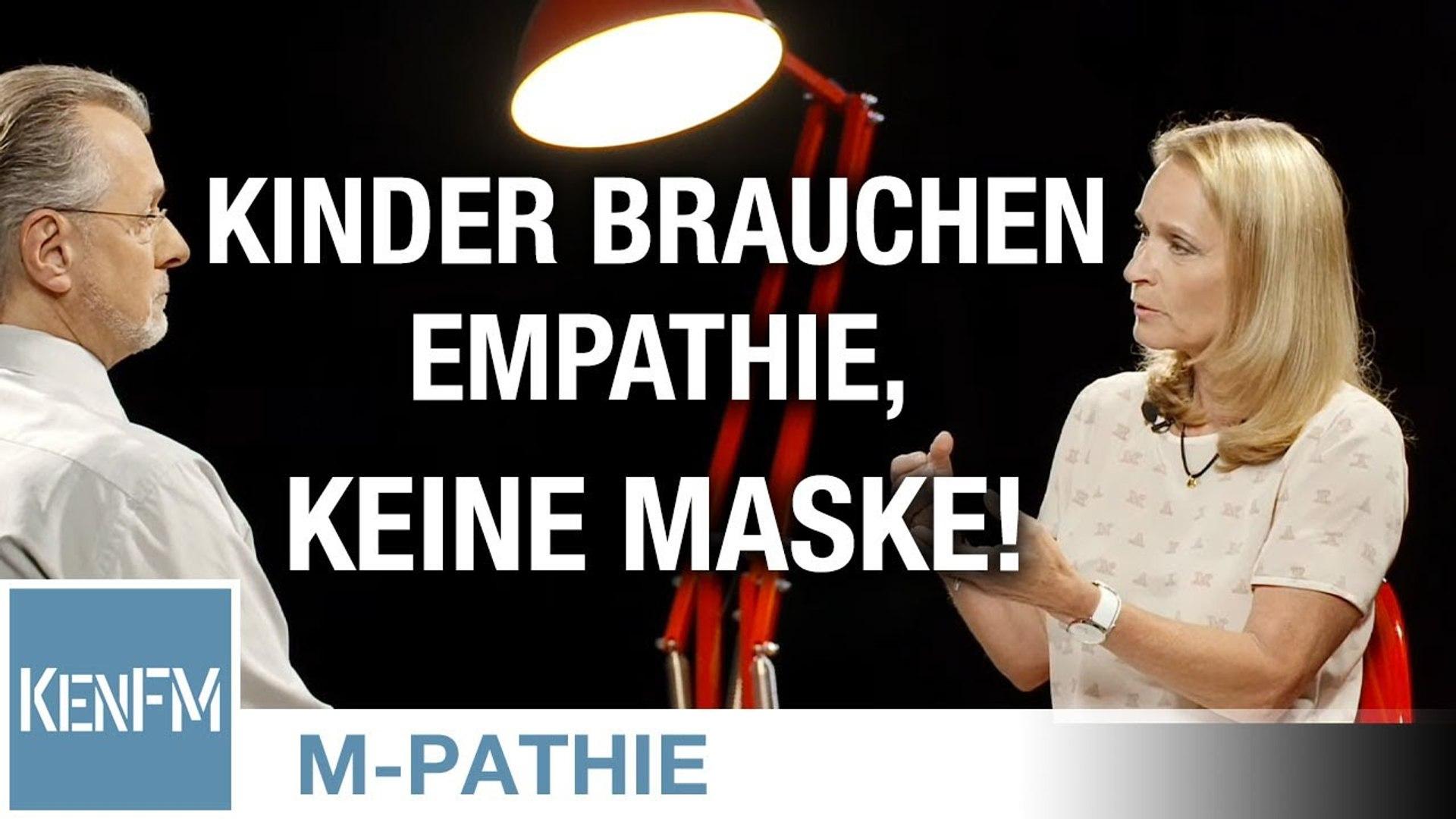 """M-PATHIE – Zu Gast heute: Andrea Beck – """"Kinder brauchen Empathie, keine Maske!"""""""