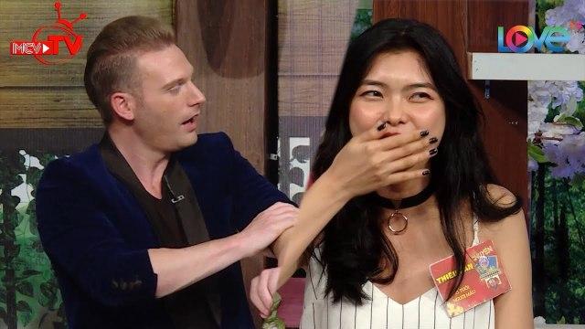 Người mẫu Thiếu Lan bối rối vì soái ca Kyo York thả thính công khai muốn hẹn hò cùng cô