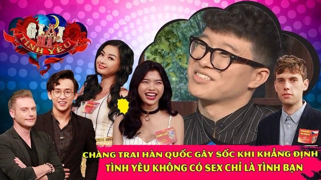 Chàng trai Hàn Quốc gây sốc khi khẳng định tình yêu không có sex chỉ là tình bạn