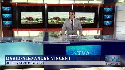TVA Nouvelles 12h CHAU 17 septembre 2020