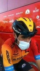 Mikel Landa, tras la 18ª etapa del Tour de Francia 2020