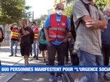 A la Une : Les hôpitaux en tension / Covid-19 à l'Ecole des Mines / 600 personnes manifestent à Saint-Etienne / - Le JT - TL7, Télévision loire 7