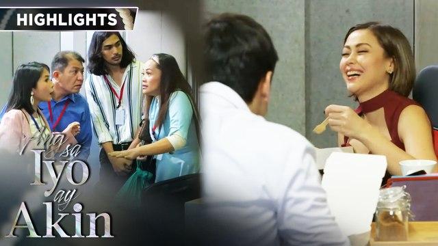 Marissa and Gabriel finish up their presentation | Ang Sa Iyo Ay Akin