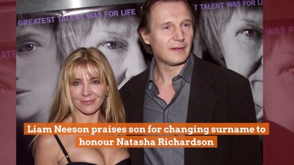 Liam Neeson Comments On Son's Name Change