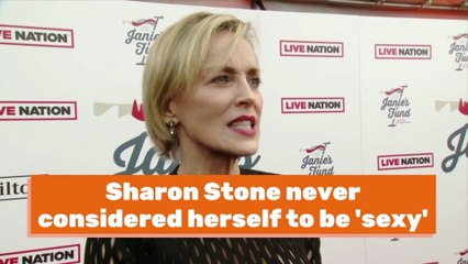Sharon Stone On Being Sexy