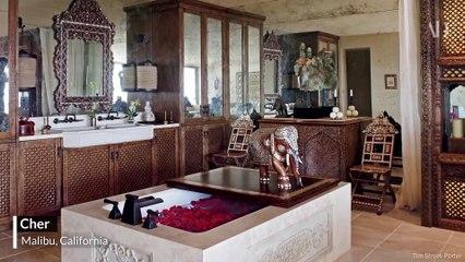 10 salles de bains de célébrités ultra luxueuses