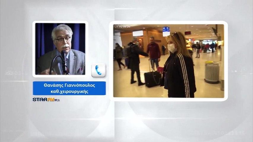 Αθ. Γιαννόπουλος: Βλέπω να  έρχεται το lockdown στην Αττική, έχει ξεφύγει η πορεία του covid19