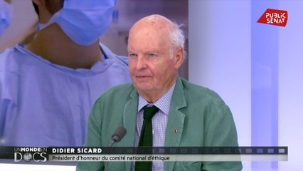 """Pour Didier Sicard, la formation des médecins généralistes telle qu'elle est aujourd'hui, est une """"contre-formation"""""""