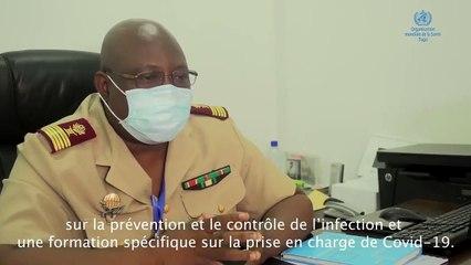 Togo : Colonel Tchamdja évoque leur quotidien au centre de prise en charge  des patients Covid-19