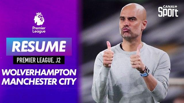 Le résumé de Wolverhampton - Manchester City