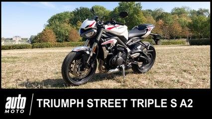 Triumph Street Triple S A2 2020 Essai POV Auto-Moto.com