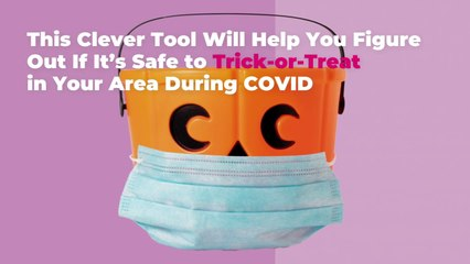 This Clever Tool Will Help You Figure Out If It's Safe to Trick-or-Treat in Your Area Duri