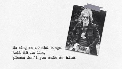 Elton John - Sing Me No Sad Songs