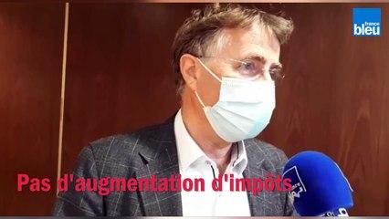 Interview_de_Serge_Grouard,_maire_d'Orléans, sur les finances de la ville