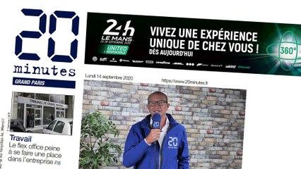 20 Minutes partenaire média des 24h du Mans 2020