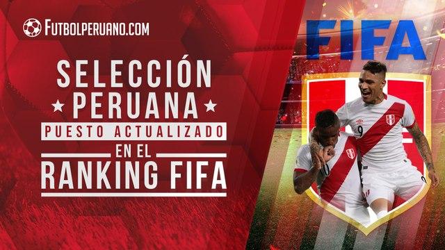 Selección Peruana: Puesto en el Ranking FIFA de cara  a su debut en Eliminatorias Qatar 2022