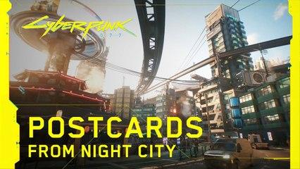 Cyberpunk 2077 - Postcards from Night City