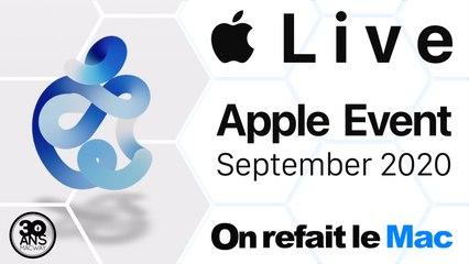 Live Apple Event September 2020 - Apple Watch Series 6 et SE, iPad 8 et iPad Air 4 ...⎜ORLM-382