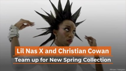 Check Out The Lil Nas X and Christian Cowan Spring Collection