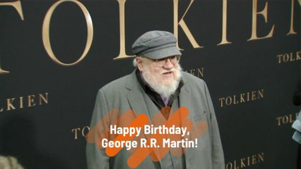 George R.R. Martin Turns 72
