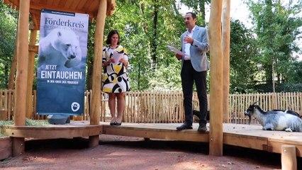 Tierpark Hellabrunn News: Fertigstellung des Ziegen-Streichelgeheges im Sept. 2020