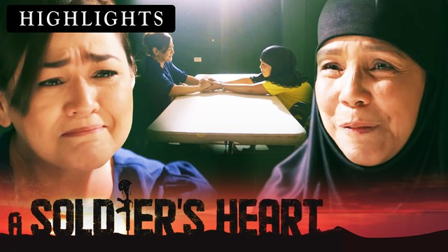 Yazmin expresses her gratitude to Minda for taking care of Alex | A Soldier's Heart