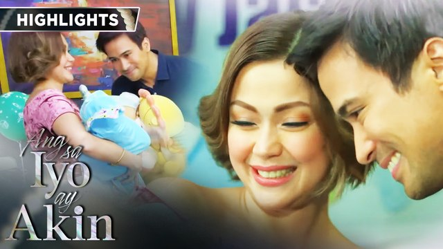 Baby Jacob celebrates his first monthly celebration in the office | Ang Sa Iyo Ay Akin