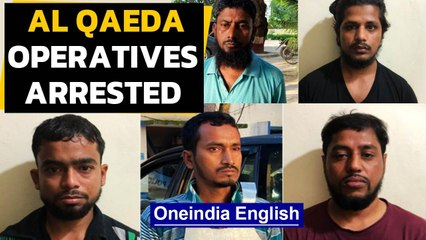 Al Qaeda operatives arrested from #Kerala & #WestBengal | Oneindia News