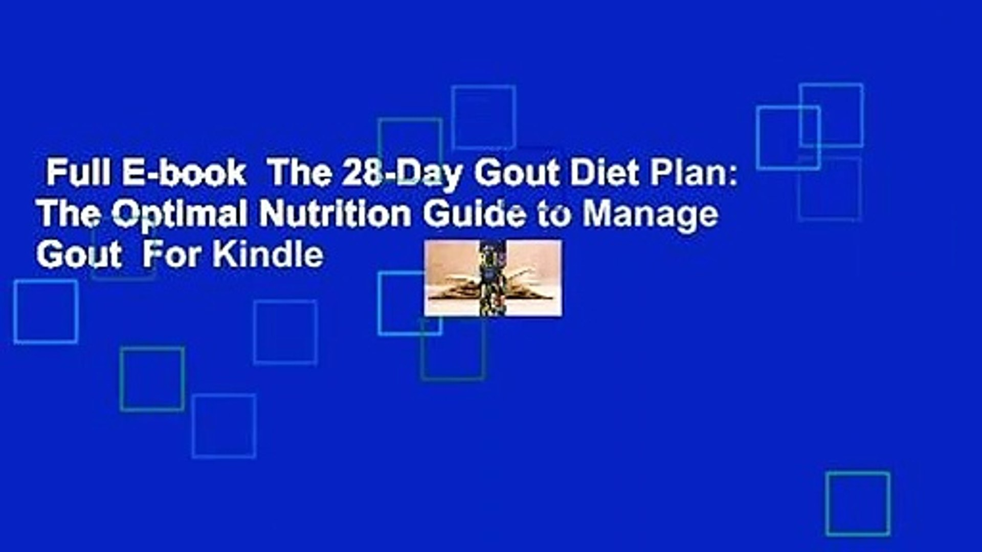 the 28-day gout diet plan