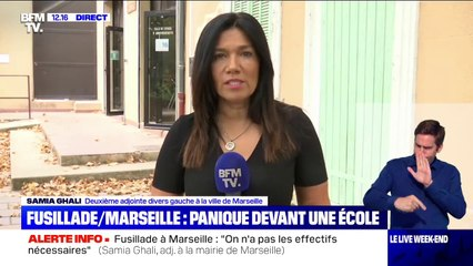 """Samia Ghali sur la fusillade à Marseille: """"Ce serait une dispute familiale qui aurait provoqué"""" l'incident"""