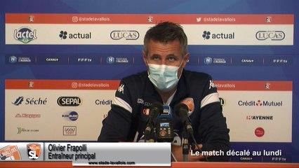 (J06) Laval vs Annecy, avant-match avec O.Frapolli