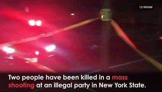 Rochester Mass Shooting: Two Killed at Illegal Party