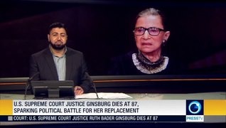 US Supreme Court Justice Ruth Bader Ginsburg died at 87