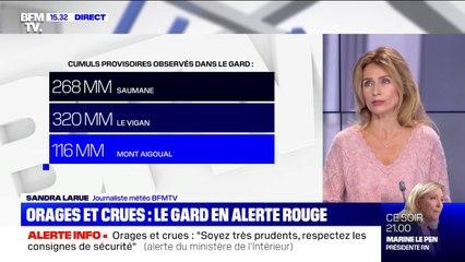 Orages et crues dans le Gard: le point sur la situation
