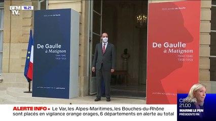 Journées du patrimoine: Jean Castex accueille des visiteurs à l'hôtel de Matignon
