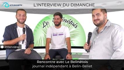L'interview du dimanche avec  Le Belinétois journal indépendant...
