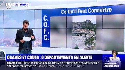Les images des violentes intempéries dans le Gard