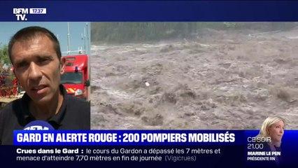 """""""On muscle notre dispositif."""" Les sapeurs-pompiers du Gard se préparent à de nouvelles fortes intempéries cette nuit"""