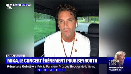 """Mika sur son concert """"I Love Liban"""": """"On a retrouvé des gens qui ont participé à des vidéos devenues virales"""" au moment des explosions à Beyrouth"""